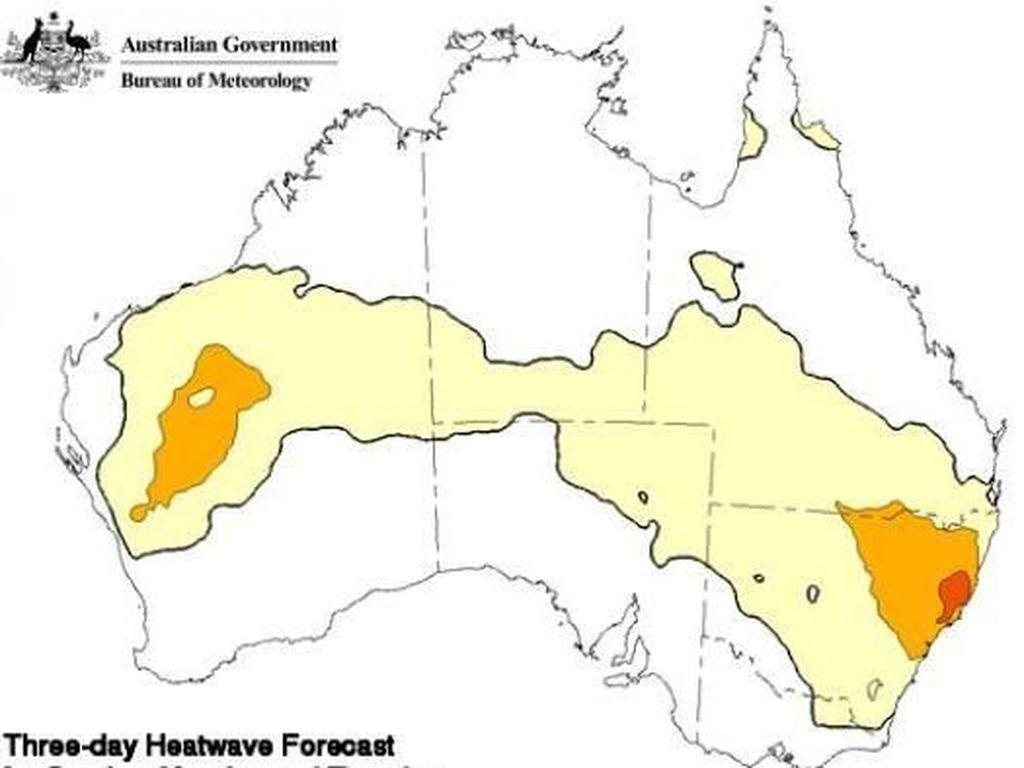 Suhu Panas di Sydney Sentuh Angka Tertinggi dalam 79 Tahun