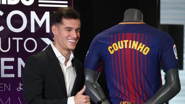 Tanda Tanya Nomor Punggung Coutinho di Barca