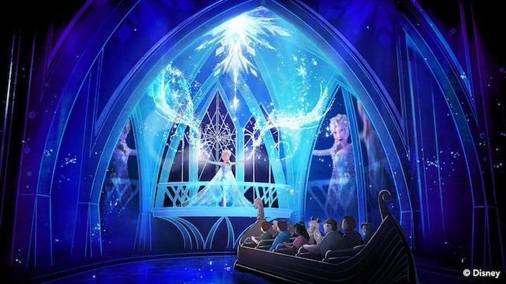 Foto: Masuk ke Dunia Frozen yang Cantik, Mau?