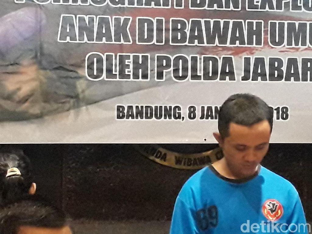Ini Tampang Sutradara Video Porno Bocah-Perempuan di Bandung