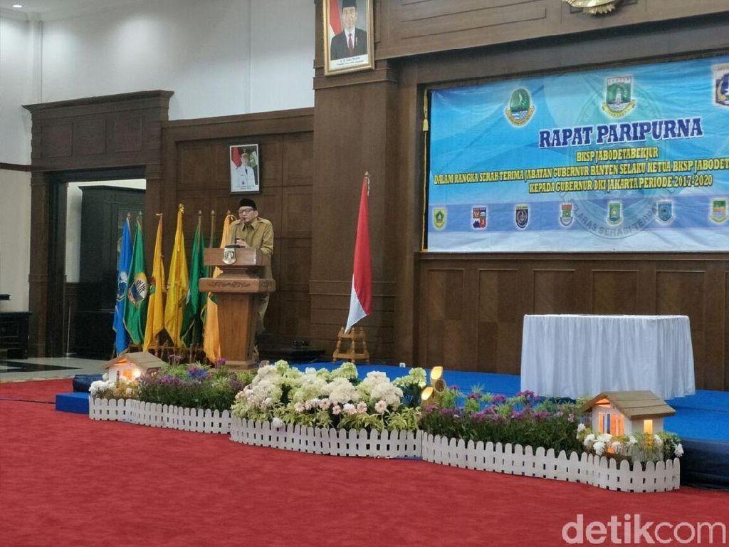 Gubernur Banten Sebut Kinerja BKSP Kendur karena Pernyataan Ahok