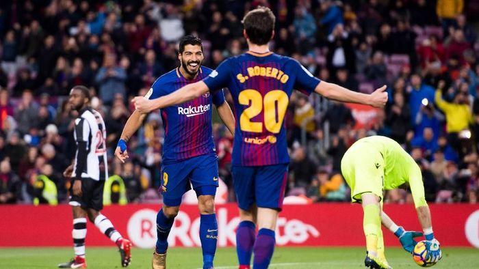 Barcelona menang 3-0 atas Levante dalam lanjutan La Liga (Foto: Alex Caparros/Getty Images)