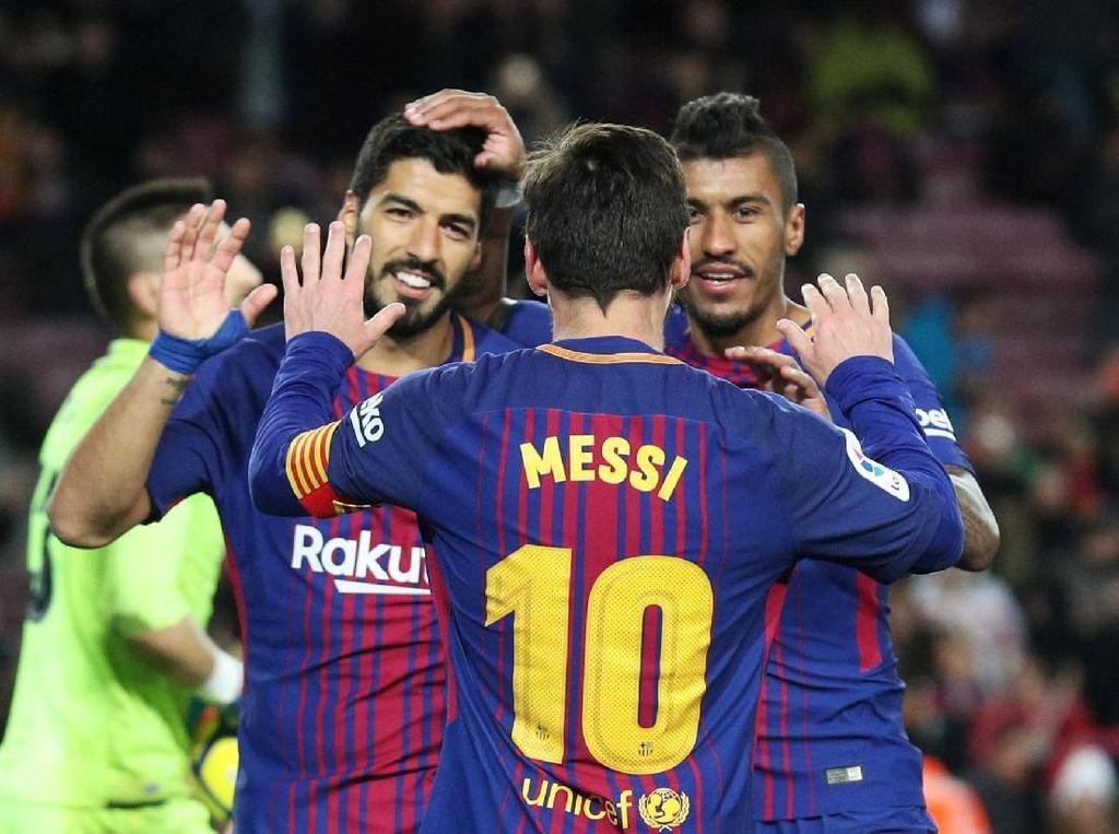Xavi: Messi Peragakan Sepakbola Indah Tanpa Banyak Trik