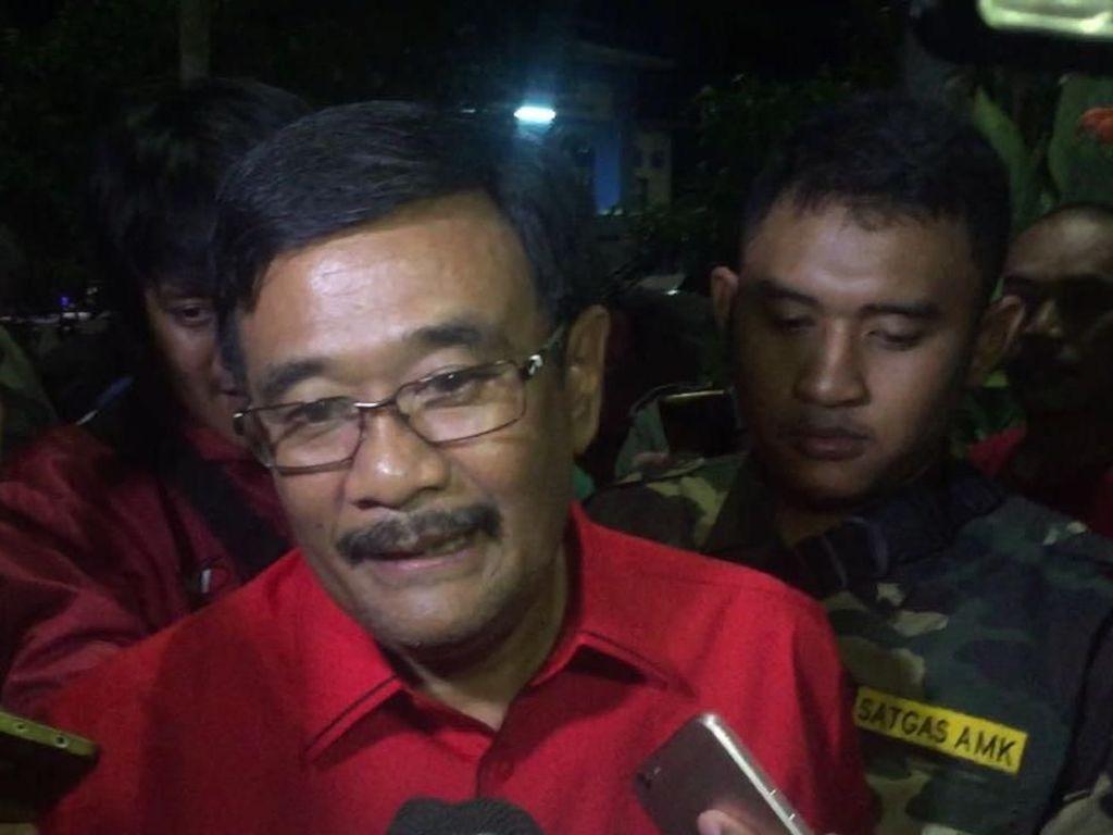 Djarot Langsung ke DPP PDIP Usai Rapat 5 Jam dengan PPP