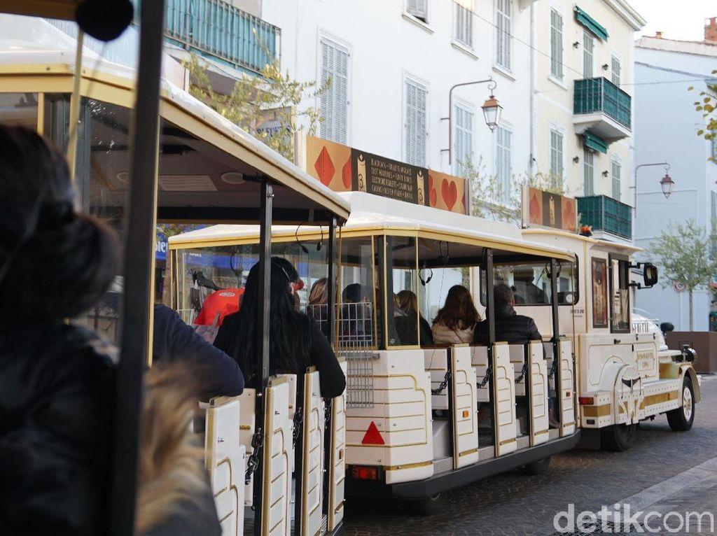 Foto: Kereta Wisata di Prancis, Simpel Tapi Asyik