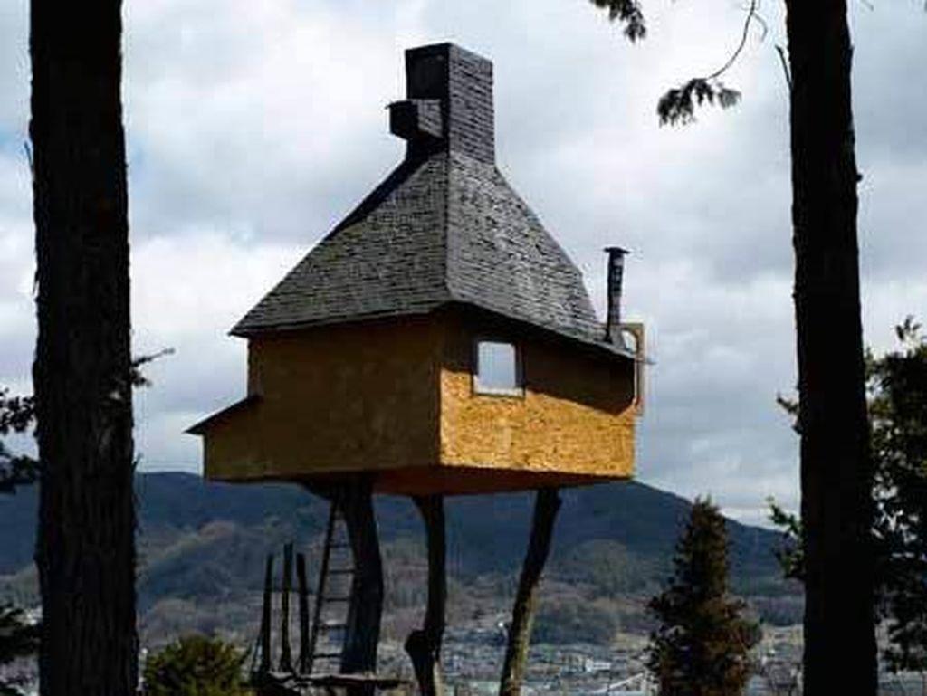 Rumah Pohon Paling Berbahaya di Jepang