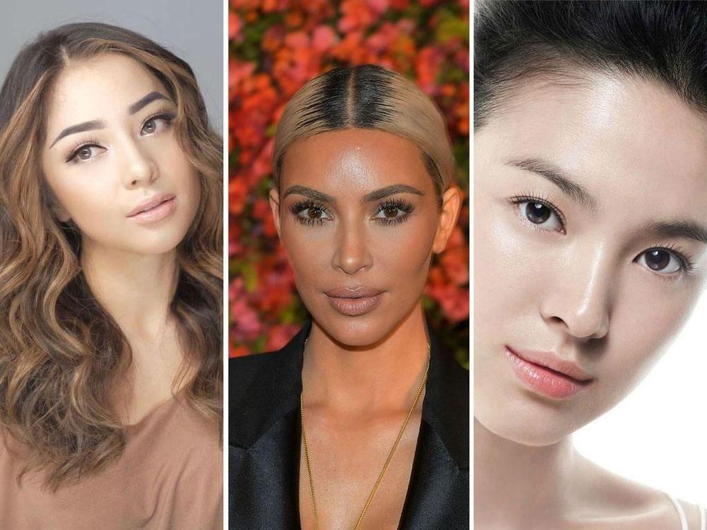 Perbedaan Makeup Wanita Indonesia, Amerika & Korea, Kamu Pilih Mana?
