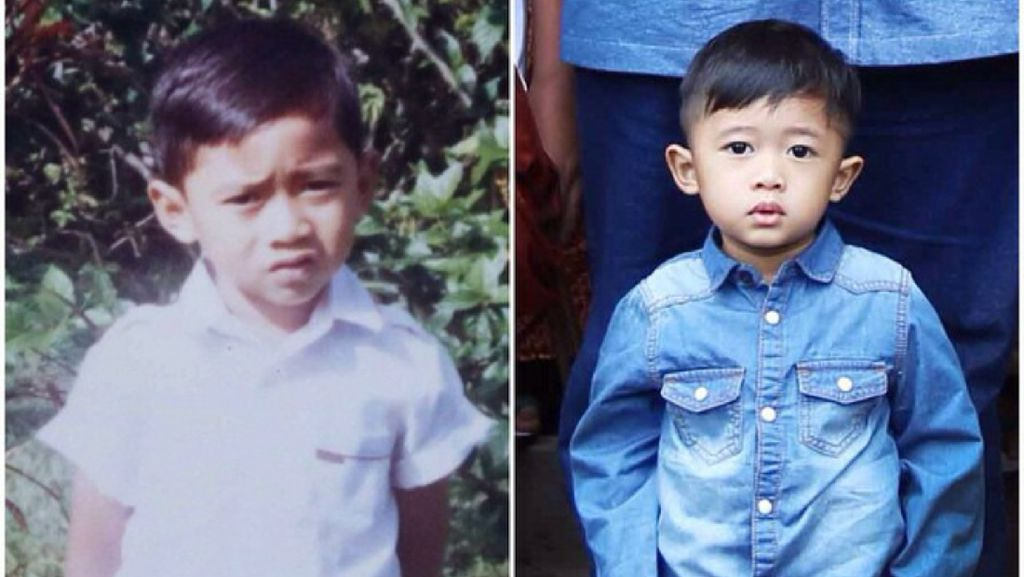 Foto Masa Kecil Agus-Ibas Yudhoyono dan Airlangga-Sakti, Mirip Ya?