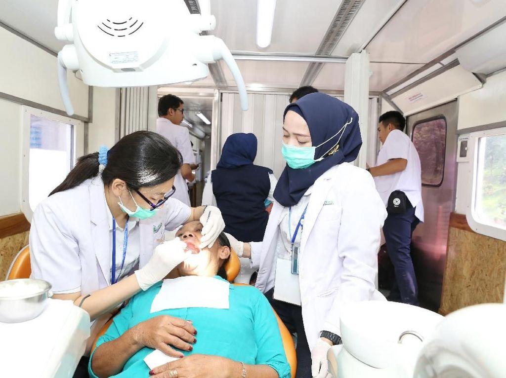 2017, Rail Clinic Layani 10.290 Pasien