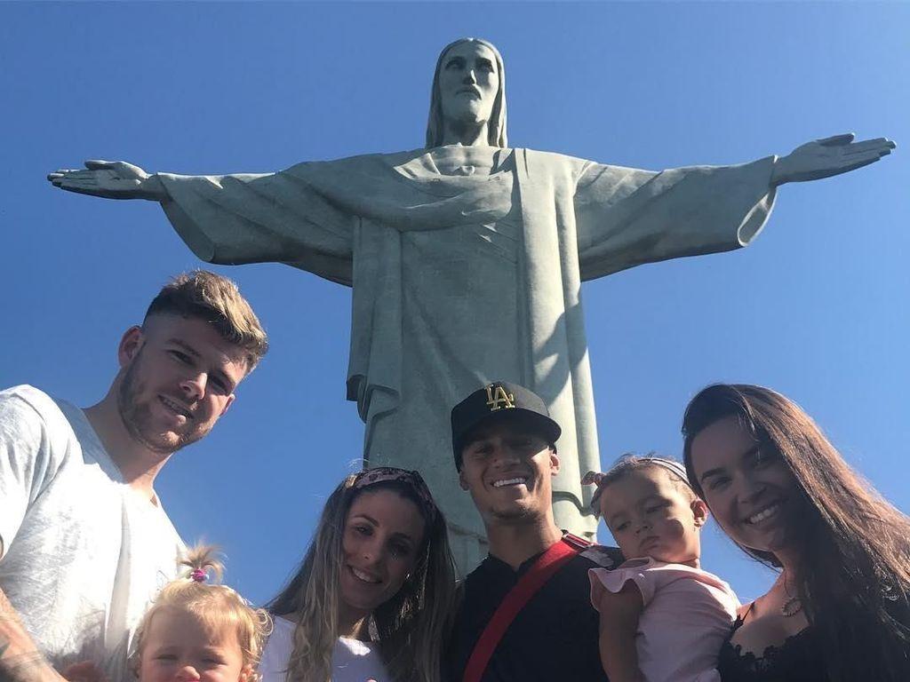 Foto: Coutinho, Hollywood dan Patung Kristus
