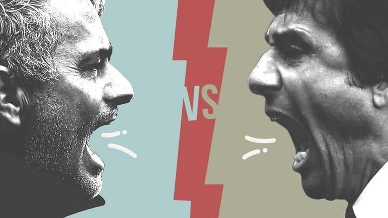 Perang Kata-Kata Mourinho dan Conte