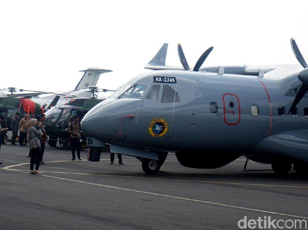PT DI Kirim 6 Pesawat dan Heli Canggih Buat TNI