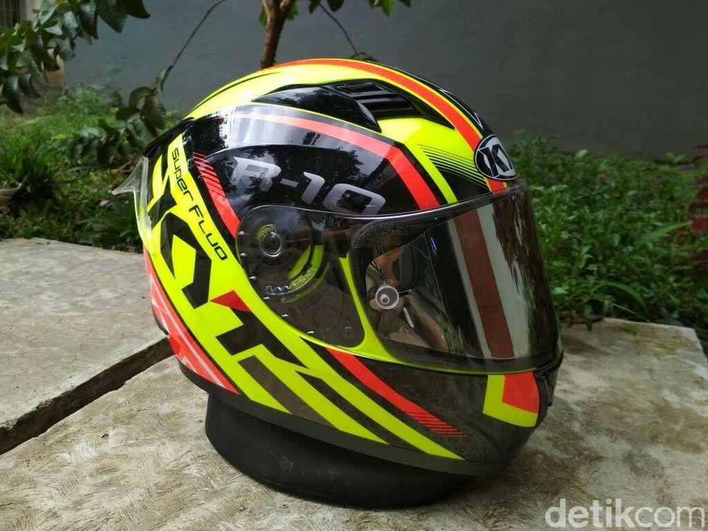 Helmmu Bisa Kaya Helm MotoGP Seperti Ini