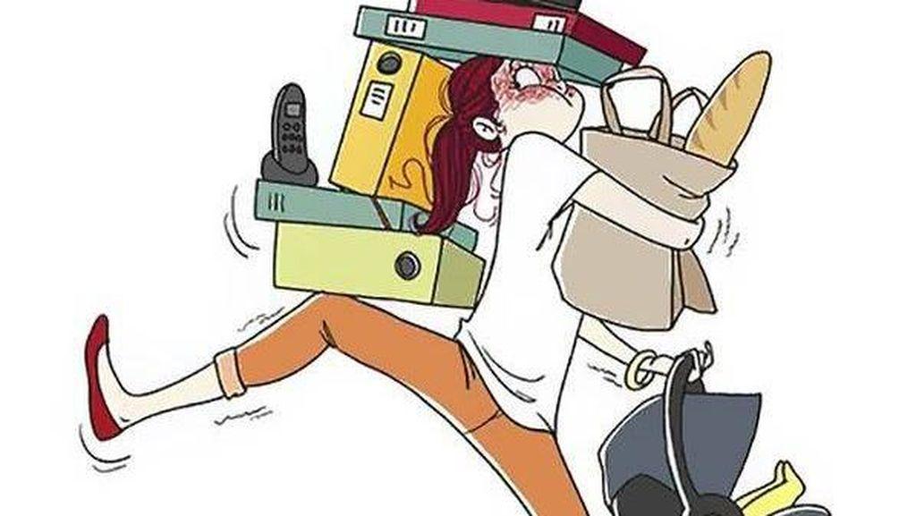 Kocak! Ilustrasi Ini Gambarkan Kehidupan Jadi Ibu Muda di Usia 20-an