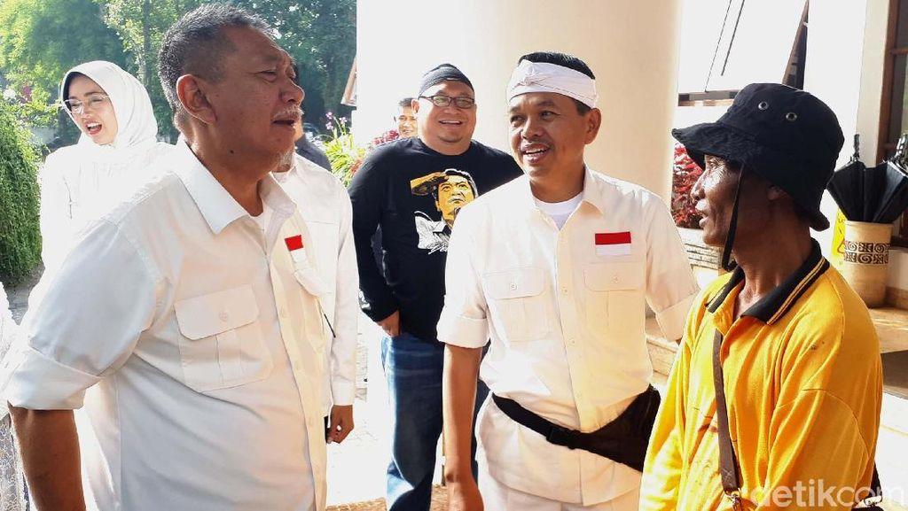 Deklarasi Dua DM Disambut Ribuan Kader