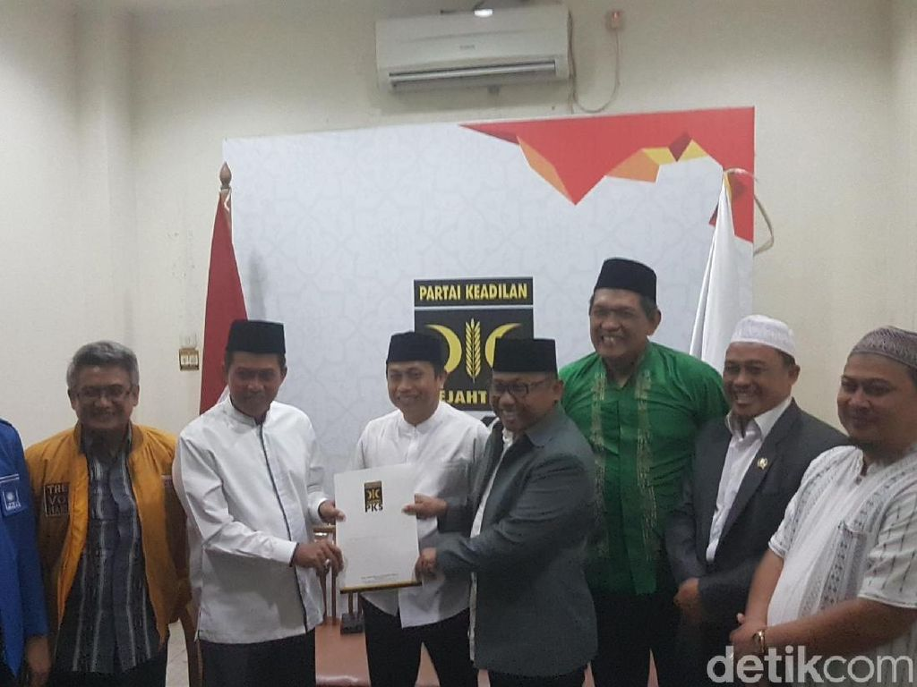 PKS Dukung Syafrudin-Subadri di Pilwalkot Serang