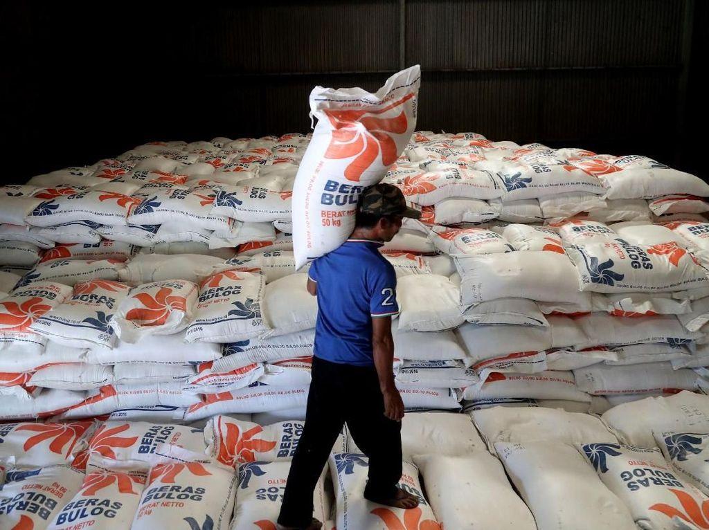 Beras Impor 2018 Masih Sisa 600.000 Ton di Gudang Bulog, Kok Bisa?