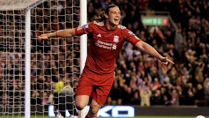 Andy Carroll cuma tahu dua nama ketika gabung Liverpool di 2011. (Foto: Michael Regan/Getty Images)