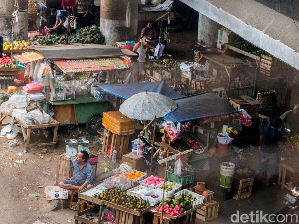 Pedagang Kena Corona di Pasar DKI Terus Bertambah, PD Kritik Pengawasan Minim