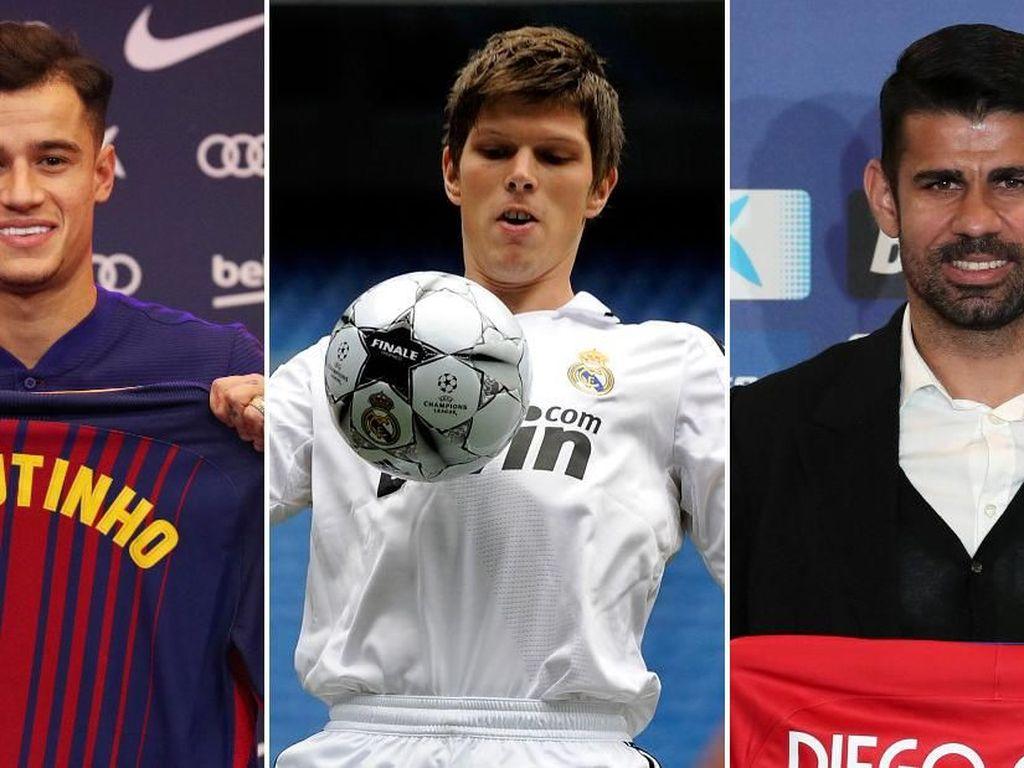 10 Transfer Termahal ke La Liga pada Musim Dingin