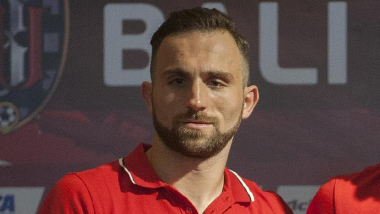 Berstatus Pemain Lokal, Spaso Bisa Perkuat Bali United di Asia