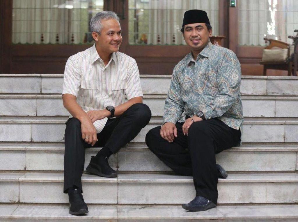 Last Minute Pilgub Jateng, Golkar Usung Ganjar-Gus Yasin