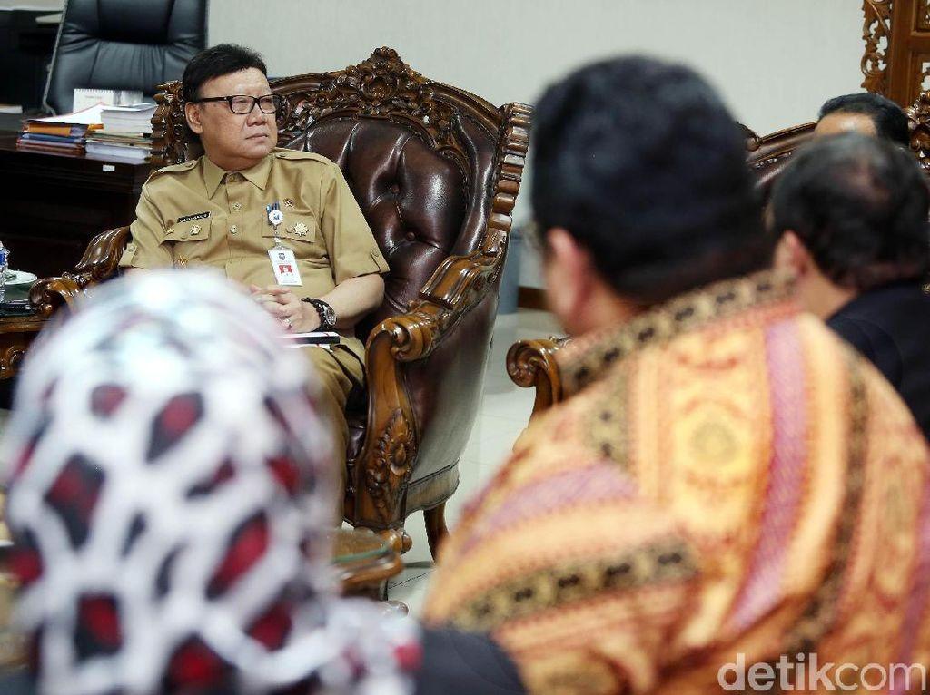 Mendagri Tepis Isu Pj Gubernur dari Polisi untuk Amankan Suara PDIP