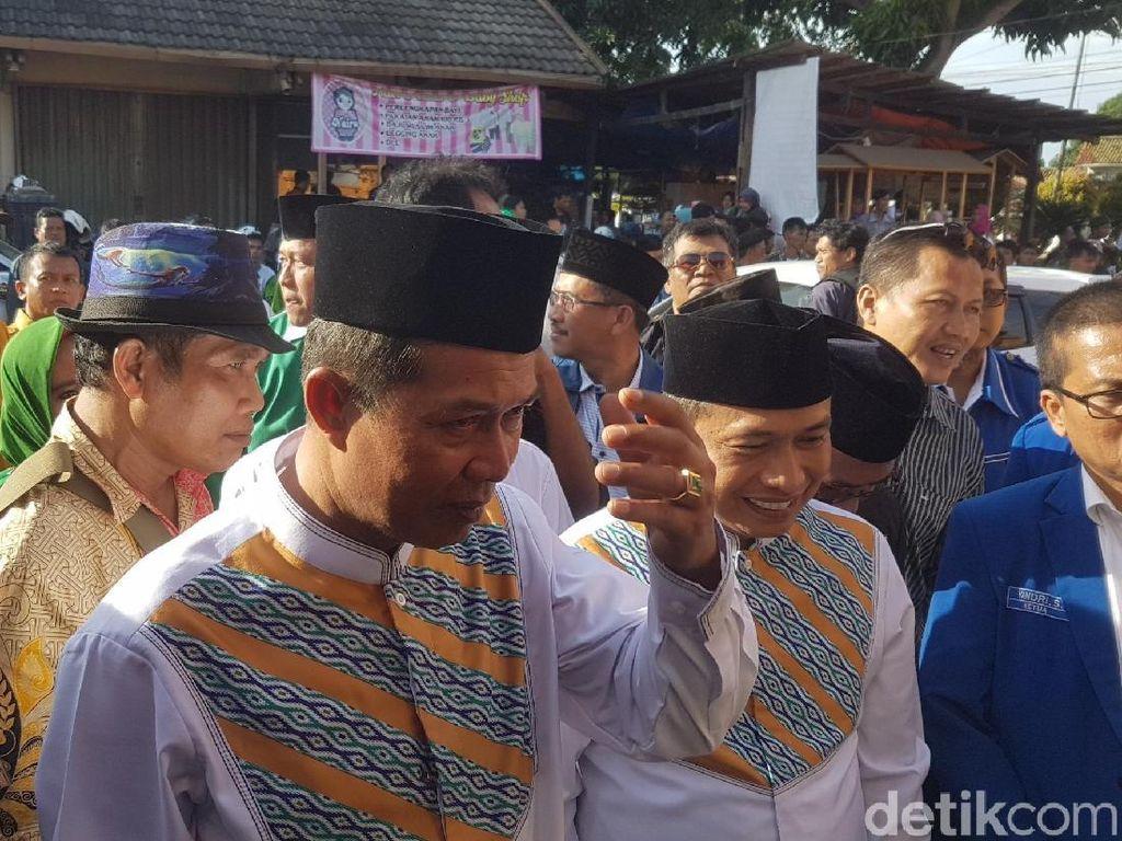Diusung Koalisi Peradaban, Syafrudin-Subadri Daftar Pilwalkot Serang