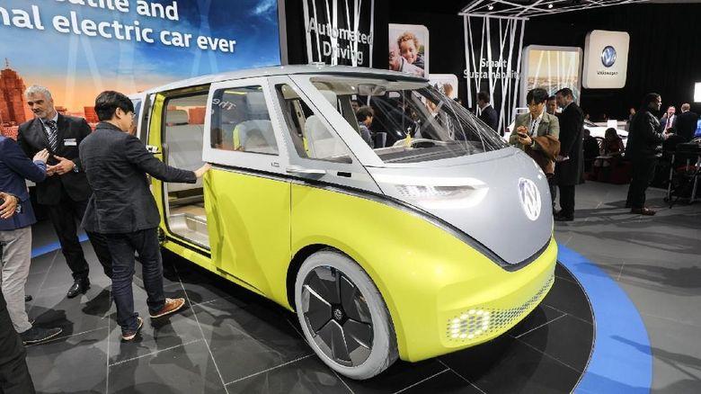 Asyik VW Kombi Datang Lagi Lebih Canggih, Bisa Baca Wajah Pemiliknya