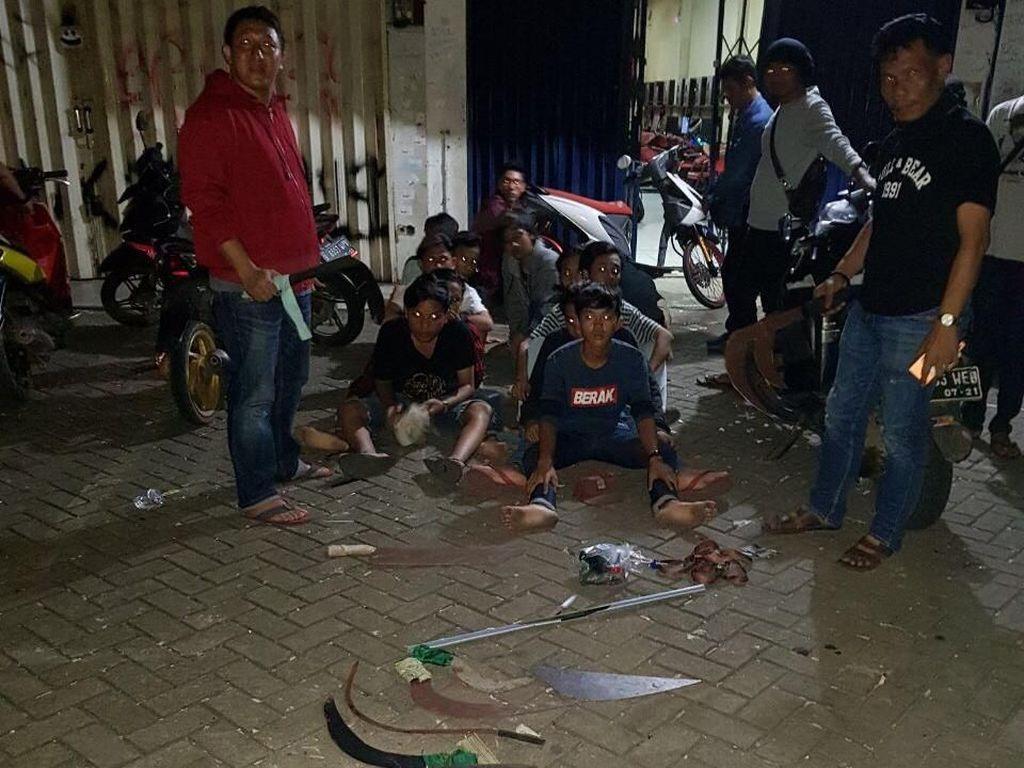 Video Belasan Remaja Diamankan Polisi saat Hendak Tawuran