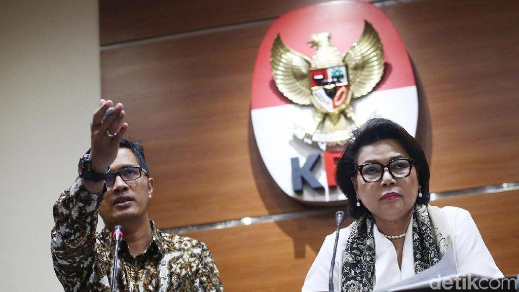 KPK Resmi Tetapkan Fredrich Yunadi dan Dokter Novanto Tersangka