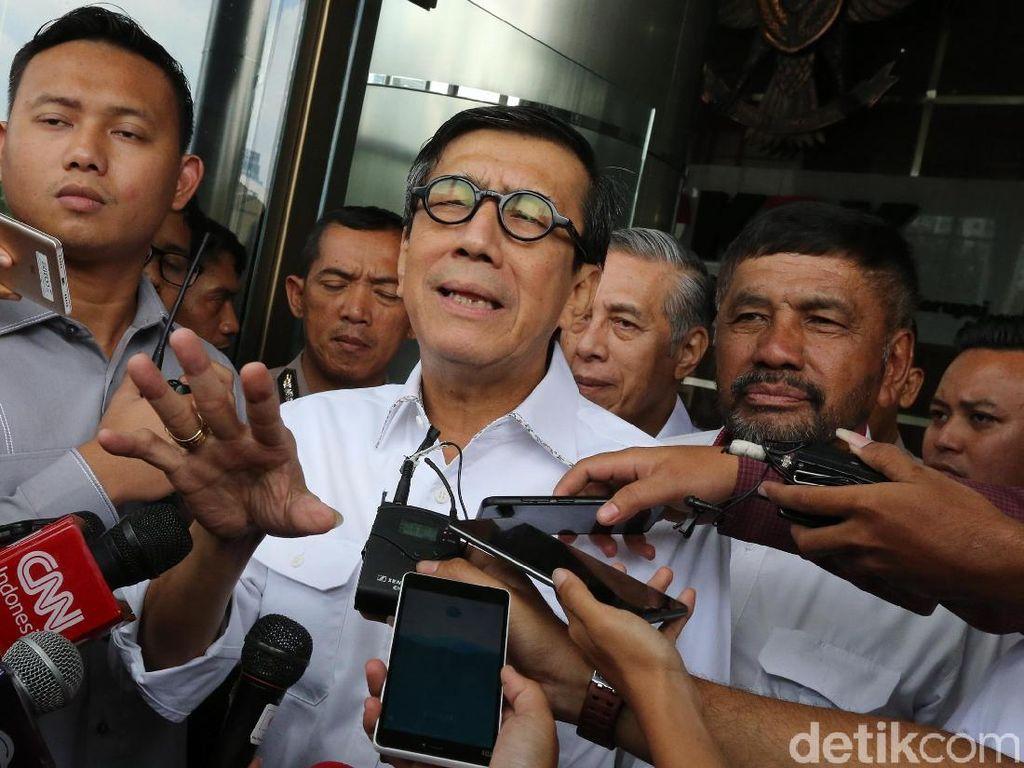 KPK Panggil Yasonna Laoly Jadi Saksi Kasus e-KTP