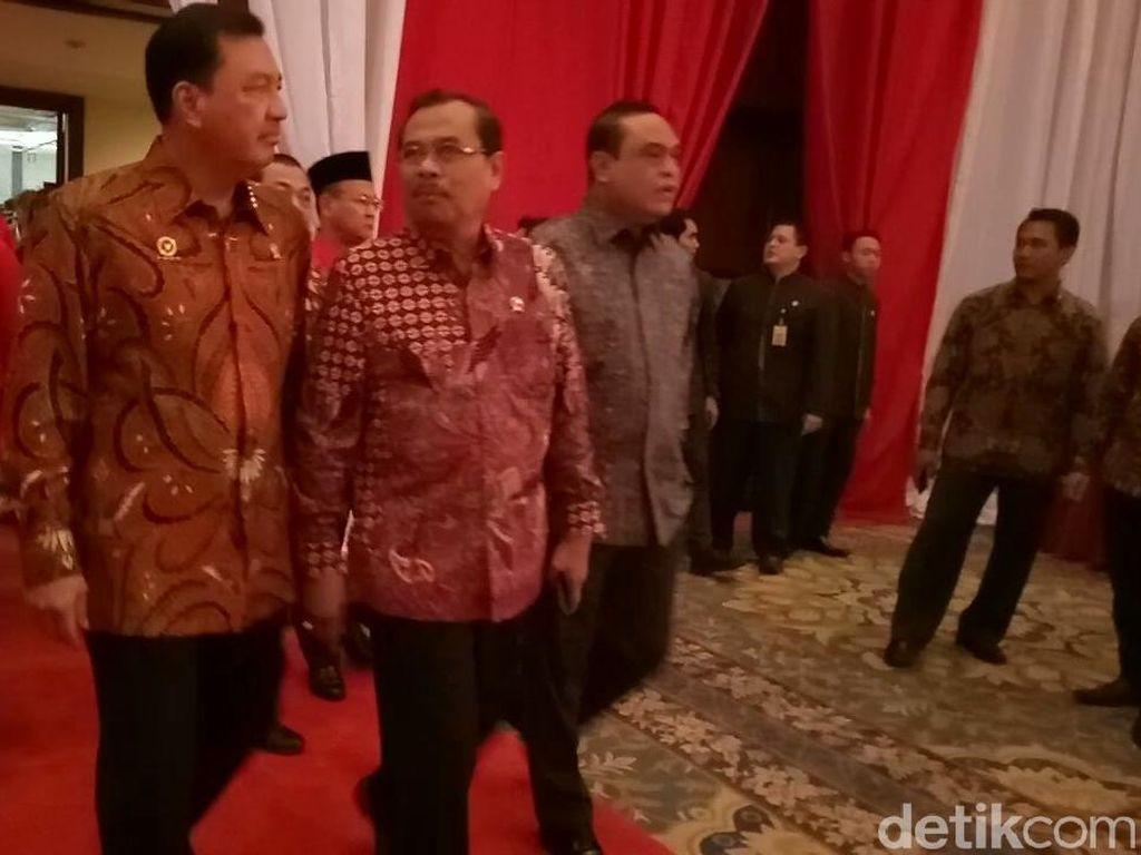 Budi Gunawan, Hary Tanoe, hingga Tsamara Amany Hadiri HUT PDIP Ke-45