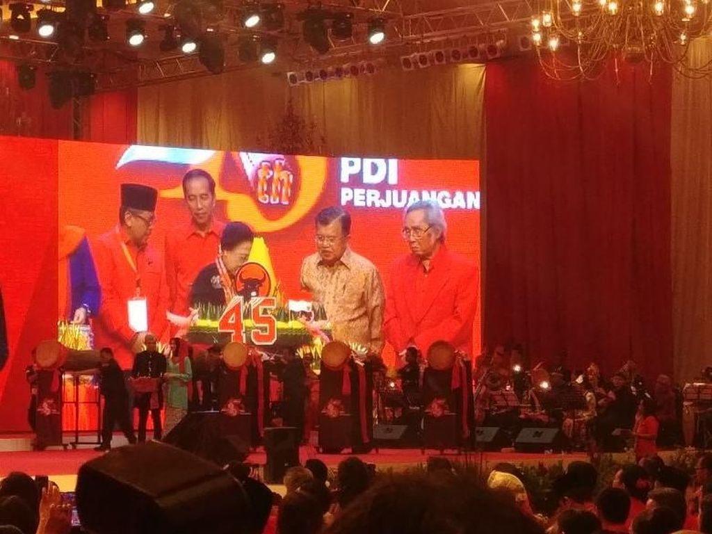 Di HUT Ke-45 PDIP, Jokowi: Dirgahayu Partainya Wong Cilik