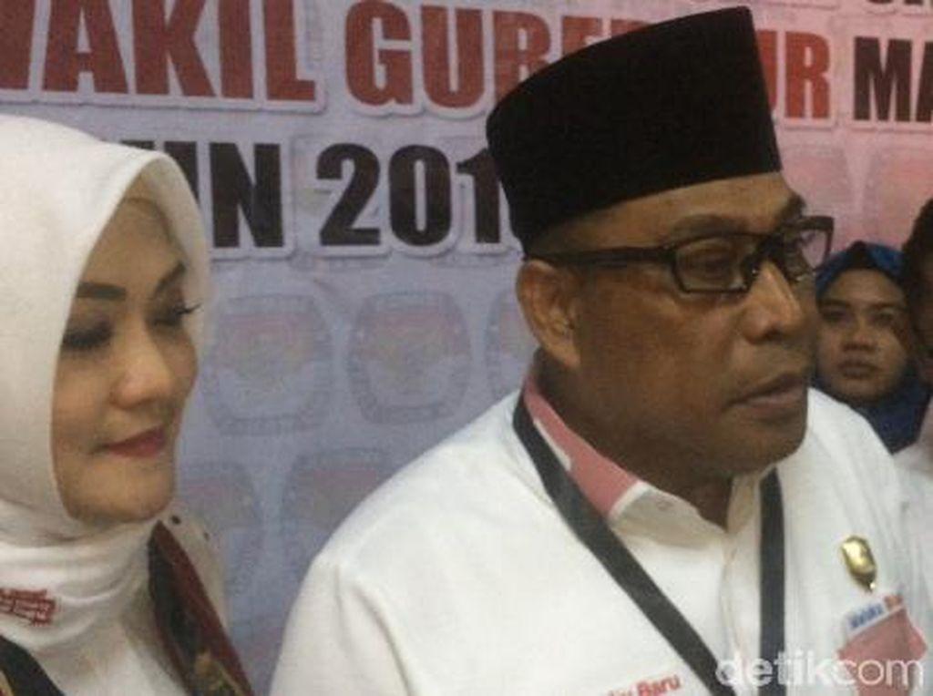 Menang Quick Count Pilgub Maluku, Murad Ismail Sujud Syukur