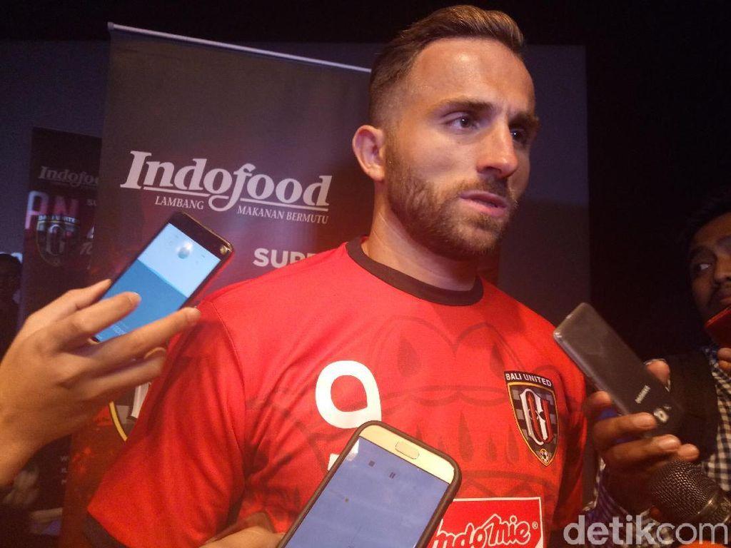 Spasojevic Ingin Bali United Bertemu Shanghai SIPG di Liga Champions Asia