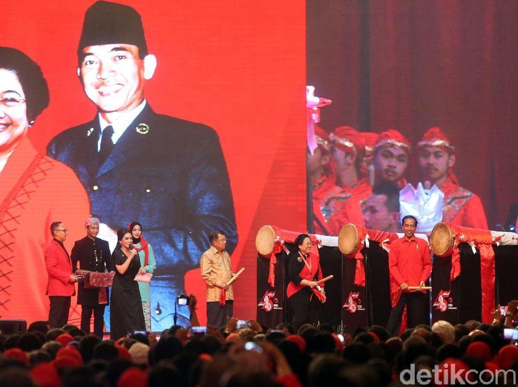 Presiden Jokowi Hadiri HUT ke-45 PDI Perjuangan