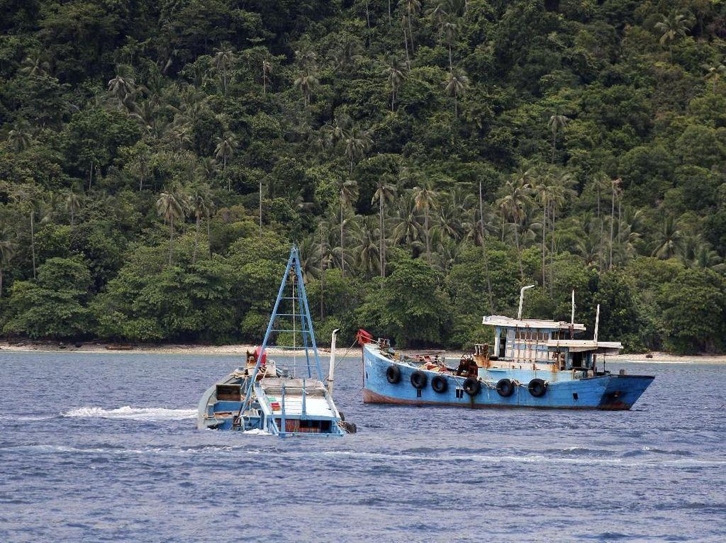 Begini Prosesnya Kapal Maling Ikan Bila Jadi Aset Negara