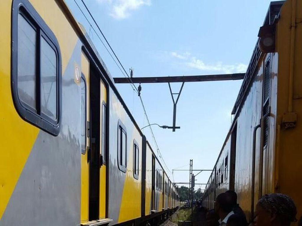 Tabrakan Kereta di Johannesburg Afsel, 226 Orang Dilarikan ke RS