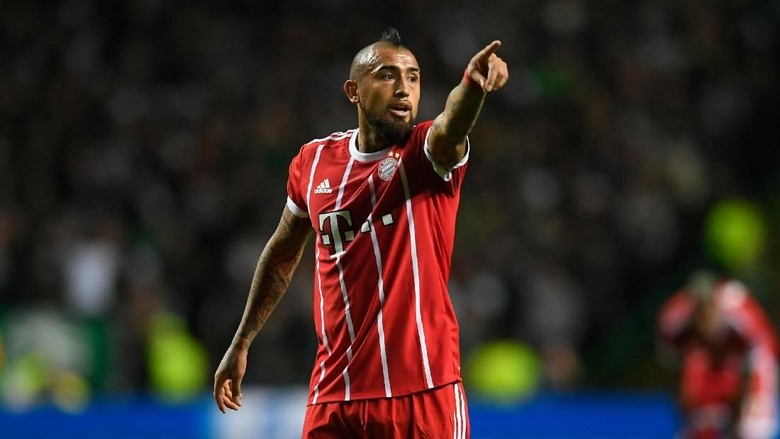 Respons Vidal soal Pujian Conte: Fokus Saya untuk Bayern