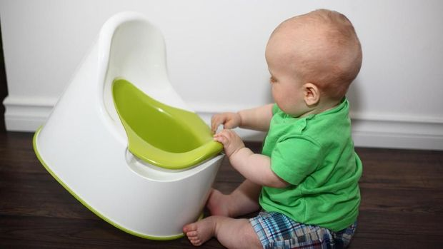 Ilustrasi anak toilet training