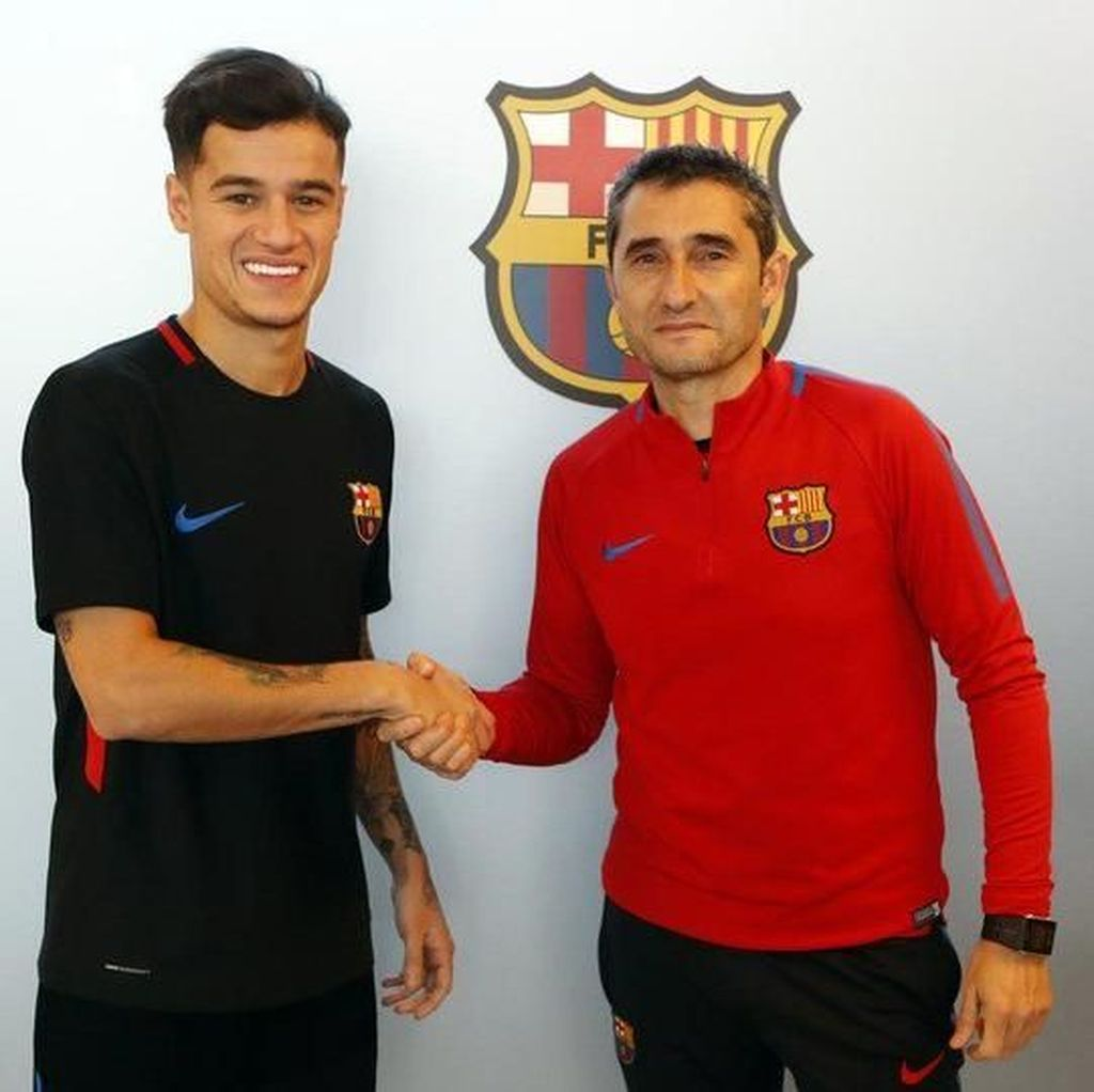 Coutinho Layak Dihargai Tinggi oleh Barca