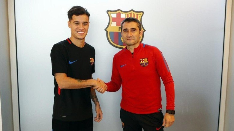 Jika Ingin Griezmann, Buat Apa Barcelona Beli Coutinho dan Dembele?