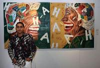 Dari Hobi Coret-coret, Naufal Abshar Berhasil Menjadi Seniman