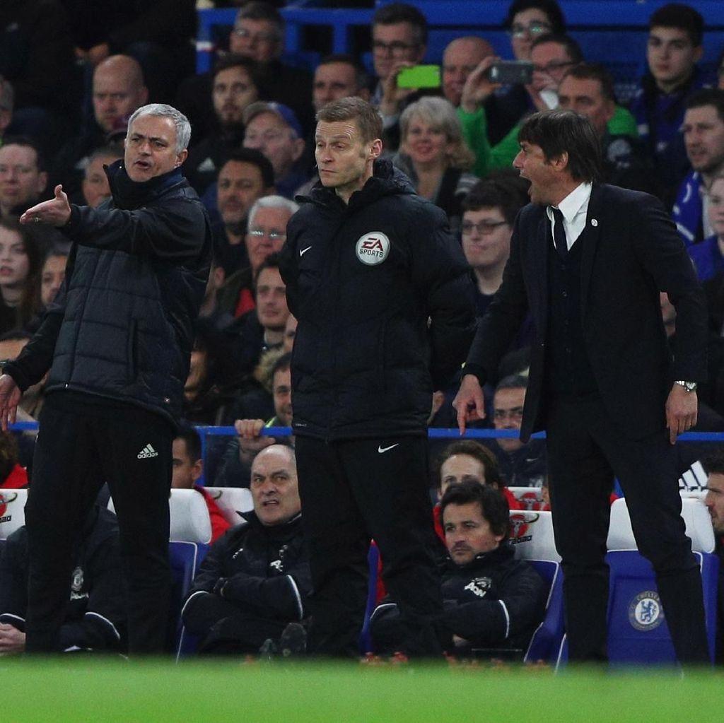 Mourinho Kena Dikerjai, Tandatangani Kaus Conte