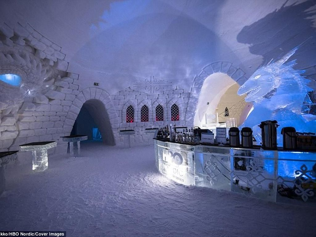 Foto: Hotel Es di Finlandia untuk Pecinta Game of Thrones