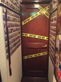 Pintu yang bergaris polisi (Detective Bar Progrees)