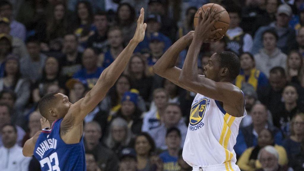 Capaian Istimewa Durant Tak Bisa Hindarkan Warriors dari Kekalahan