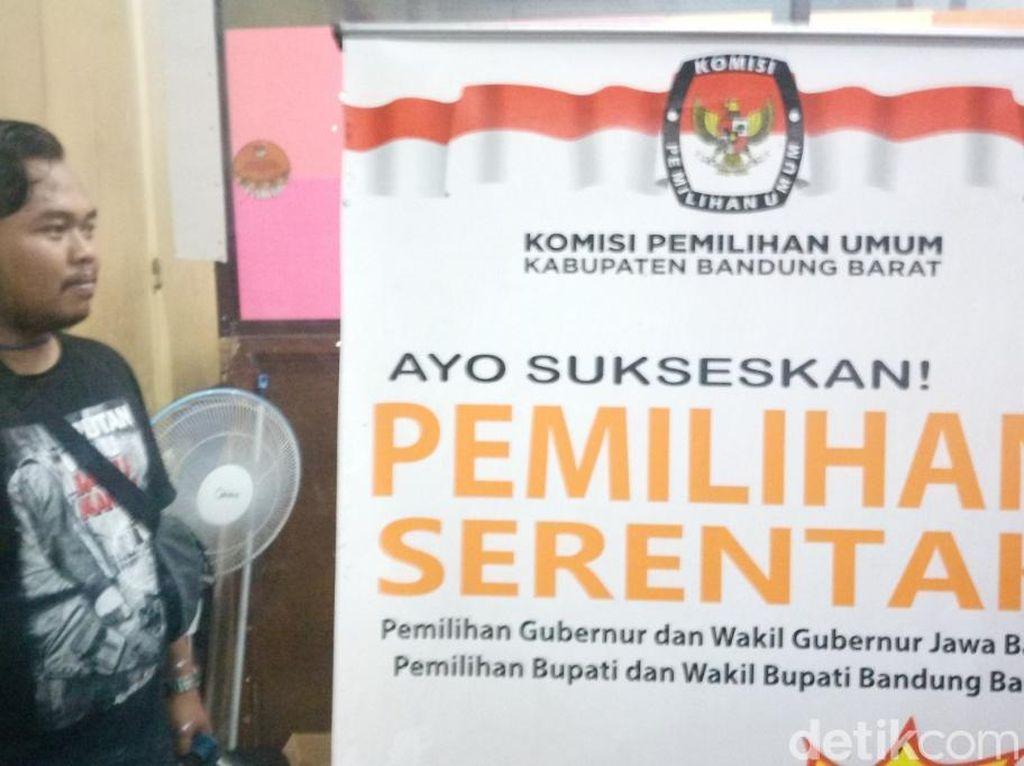 Masa Kampanye, Alat Peraga Pilbup Bandung Barat Belum Siap