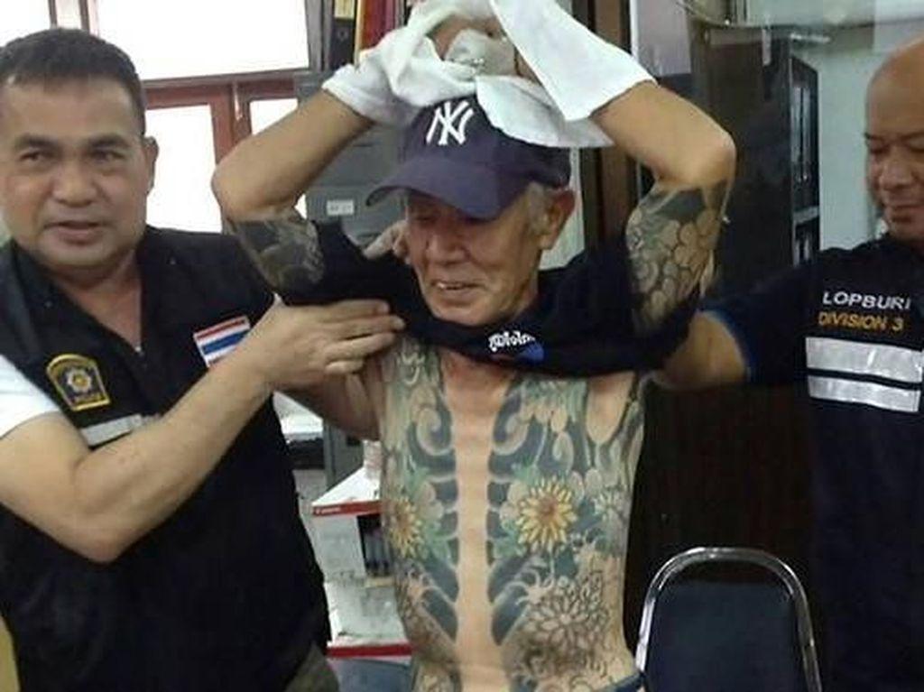 Buron 14 Tahun, Bos Yakuza Ditangkap karena Foto Tatonya Viral